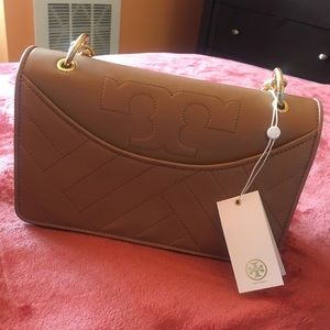 baedbad4075e Tory Burch Bags - NEW Tory Burch Alexa Shoulder Bag Aged Vachetta